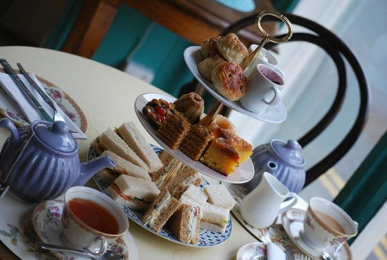 The Hideout Cafe: Our afternoon tea