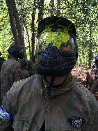 Delta Force Paintball Hemel Hempstead: Fogged up!