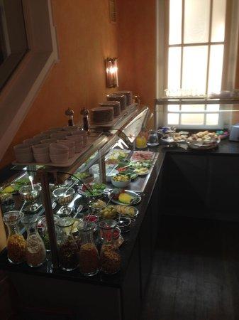 Hotel Splendid-Dollmann: breakfast spread