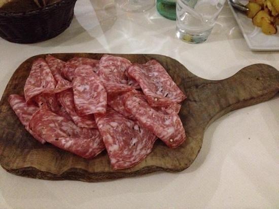 Osteria Magona : Tagliere di Finocchiona
