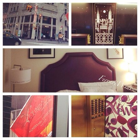 The Lexington New York City - an Autograph Collection Hotel : Room collage
