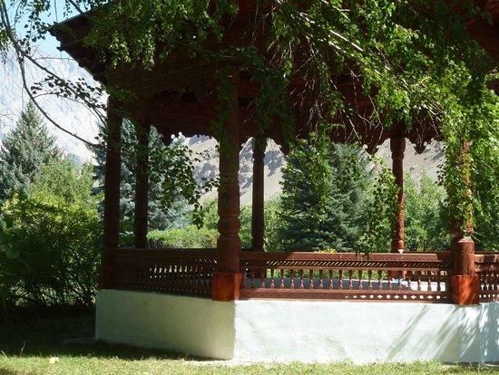 Khorog, Tadschikistan: Pavillion