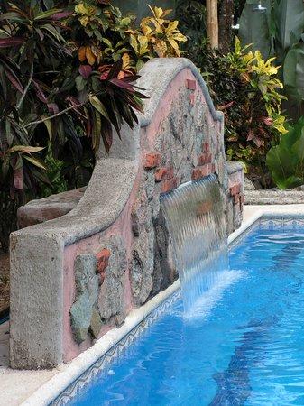 Forest Hills Suites : Fontaine à la piscine