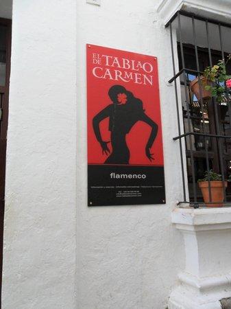 El Tablao de Carmen : Flamenco dancing in Pablo Espanyol