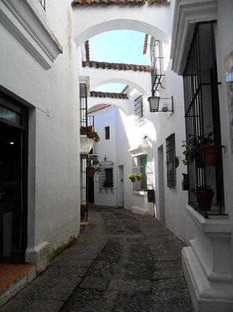 El Tablao de Carmen : walkway to the dance show