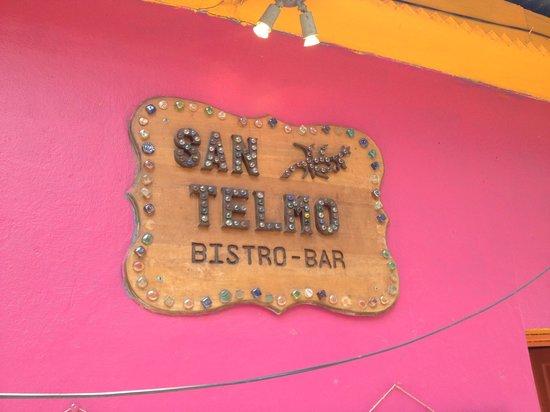 San Telmo Restaurant: Restaurant sign