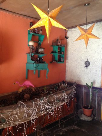 San Telmo Restaurant: The decor