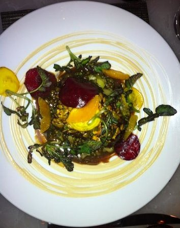 Hawksworth Restaurant: slow braised lamb shoulder