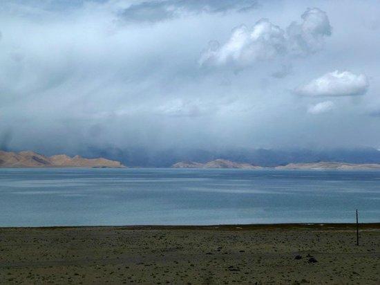 Khorog, Tadschikistan: Überblick von Osten