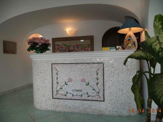 Hotel Le Fioriere: recepção