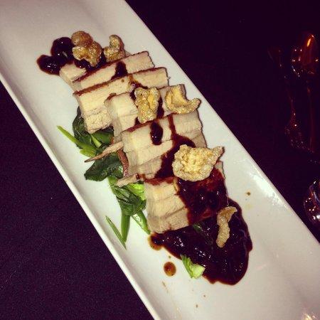 Radisson Blu Hotel, Leeds: Pork belly