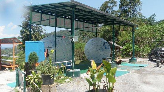 Rollerball Zorbing Phuket: The balls again