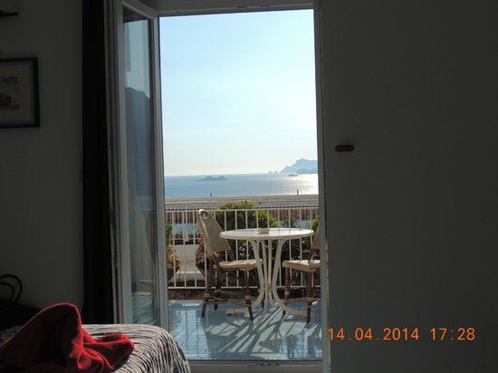 Hotel Le Fioriere: vista a partir do apartamento
