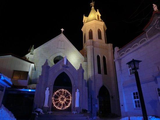 Hakodate Orthodox Church : 夜の元町エリア2