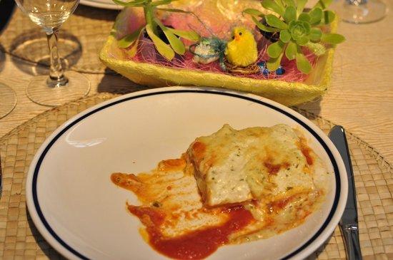 Tenuta Barco di Emera : Lasagna tricolore al pesto