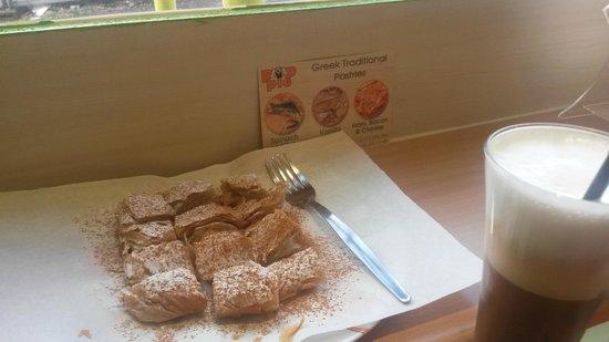 Pop Pie: Vanilla pie + Iced Cappuccino !!!