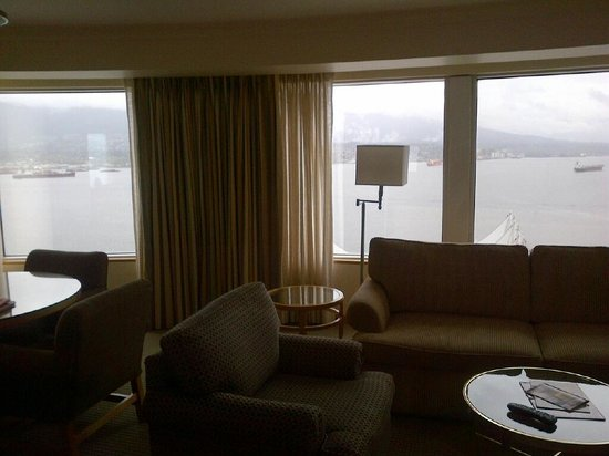 Pan Pacific Vancouver: Another angle of a terrific view!