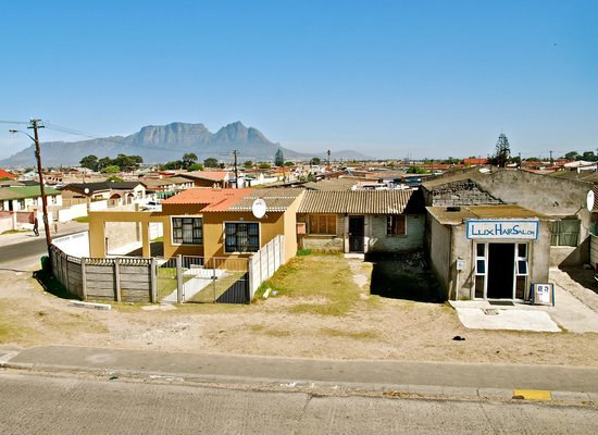 Liziwe's Guest House & Tours: A view from Liziwe's Guesthouse
