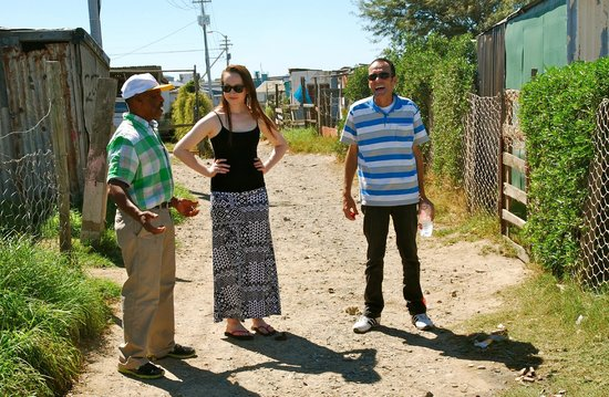 Liziwe's Guest House: Me on the tour with Donald (left) and Andrew (right)