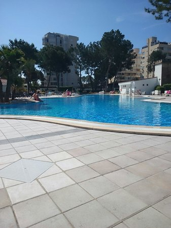 BQ Belvedere Hotel: Pool side!