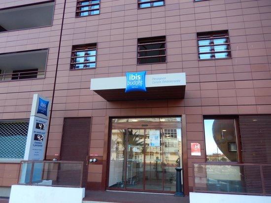 Ibis Budget Perpignan Centre Méditerranée : Hotel Entrance