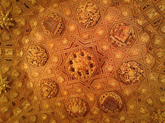 Monasterio de San Antonio El Real: Detalle de artesonado