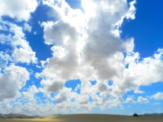 Corralejo Dunes: nuvole