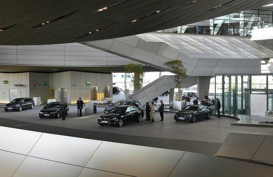 BMW Welt: A very fancy showroom