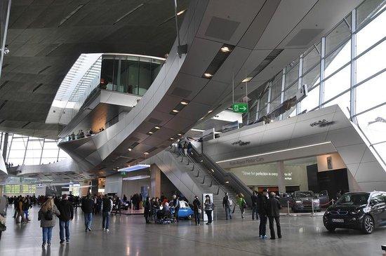 BMW Welt: Unique architecture