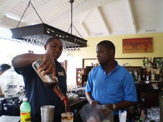 Royal West Indies Resort: Premy and Mario, wonderful staff at Pelican Bay