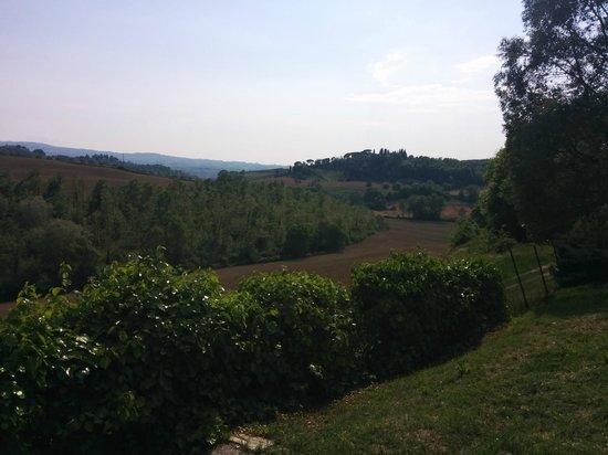 Il Grande Prato : Vista sulle colline