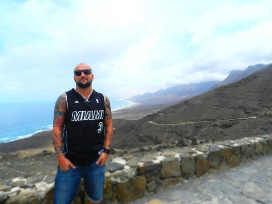 Playa de Cofete: io