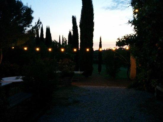 Il Grande Prato al tramonto