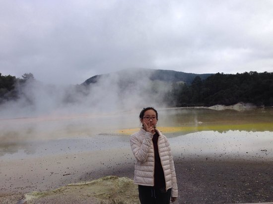 Wai-O-Tapu, New Zealand: Artist's Pallette