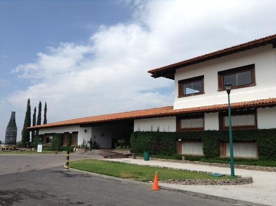 Finca Sala Vive by Freixenet Mexico: vista de la entrada principal