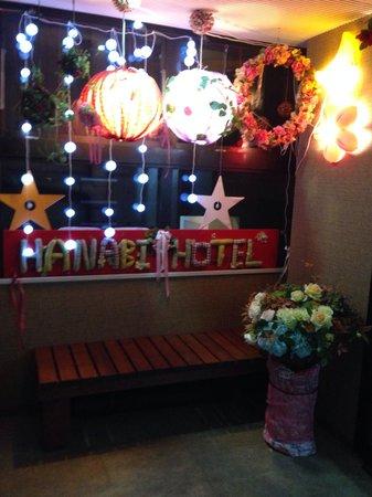 Hanabi Hotel : Cute entrance to the hotel