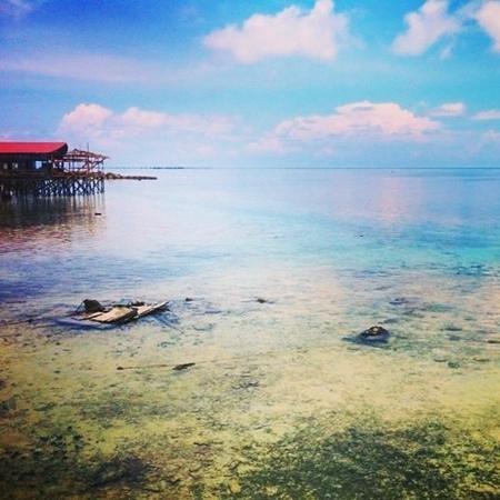 Seahorse Sipadan Scuba Lodge: the view