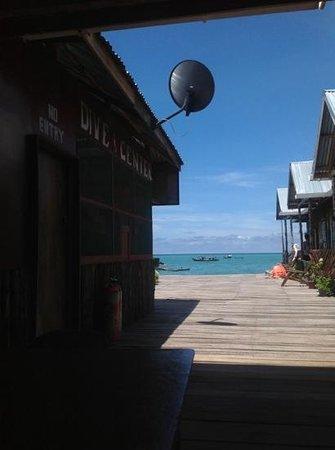 Seahorse Sipadan Scuba Lodge: during 2013 visit