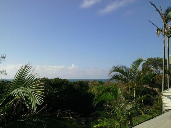 Glen Eden Beach Resort : Balcony