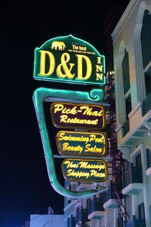D&D INN on Khao San Road