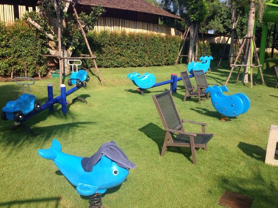 Holiday Inn Resort Krabi Ao Nang Beach : Kids playground!