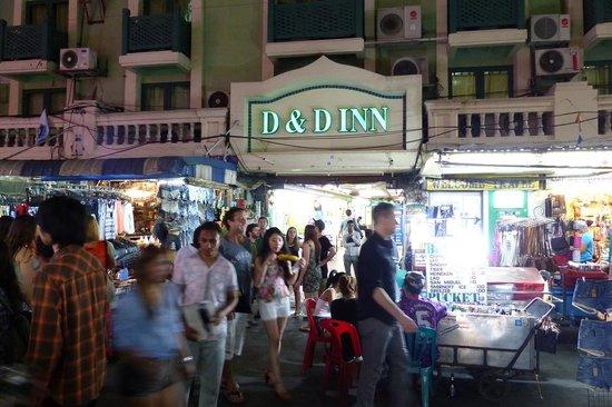 D D Inn Entrance On Khao San Road Picture Of D D Inn Bangkok