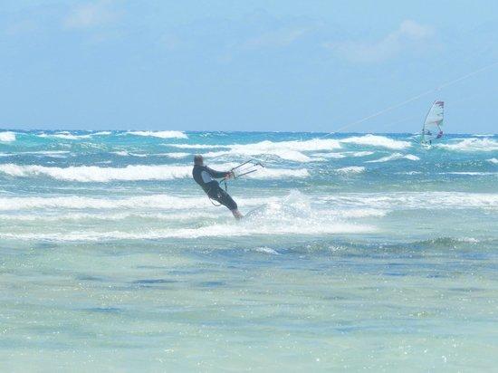 Parque Natural de Corralejo: surf