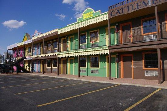 Big Texan Motel: vue chambre