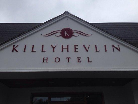 Killyhevlin Lakeside Hotel & Lodges: BFM ready for a break