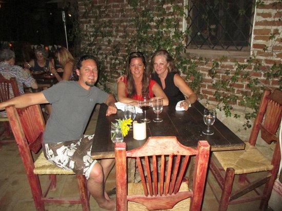 Los Tamarindos: enjoying the atmosphere