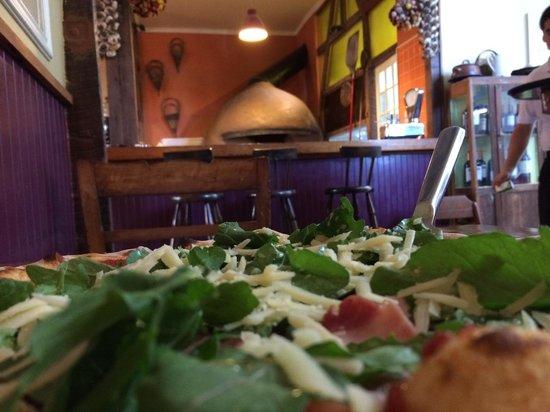 Malandrino: Pizza Rucola