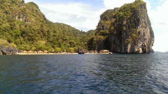 El Nido Resorts Lagen Island: Approaching Lagen Island