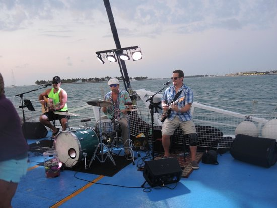Fury Water Adventures Key West : band on the cruise