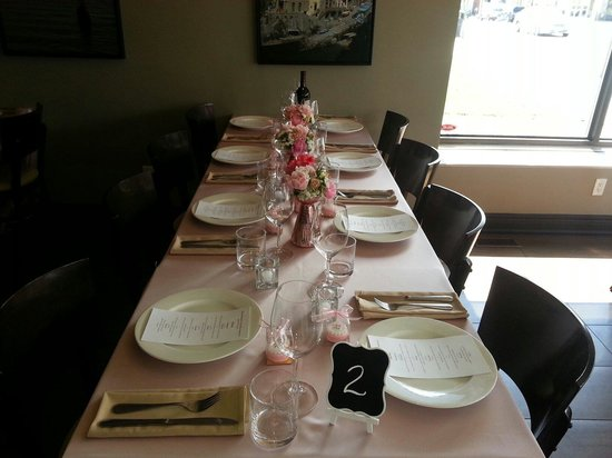 Pasquale's Trattoria: Sundays we are available for private functions.
